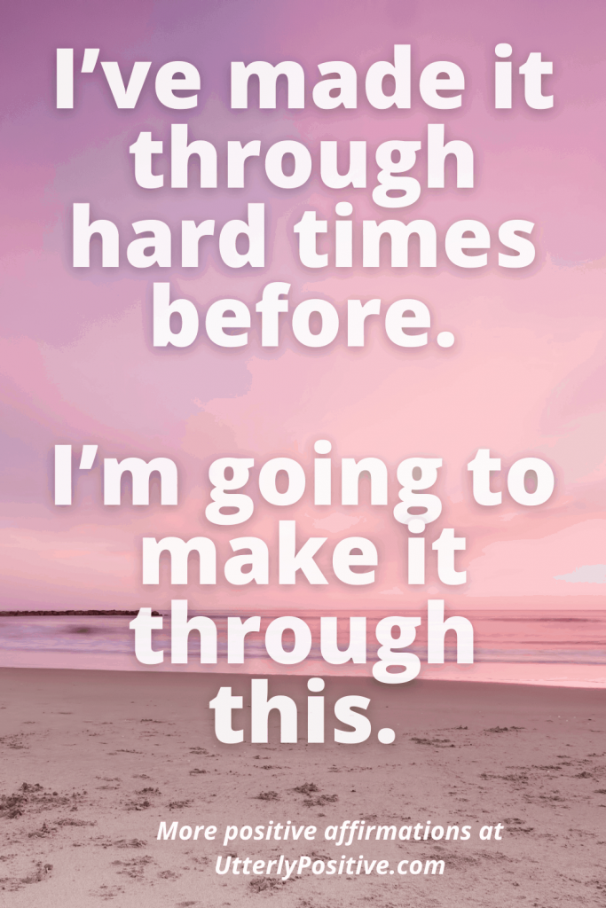 i'm going to make it - positive affirmations for anxiety attack
