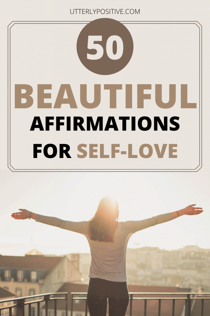 50 beautiful affirmations for self-love
