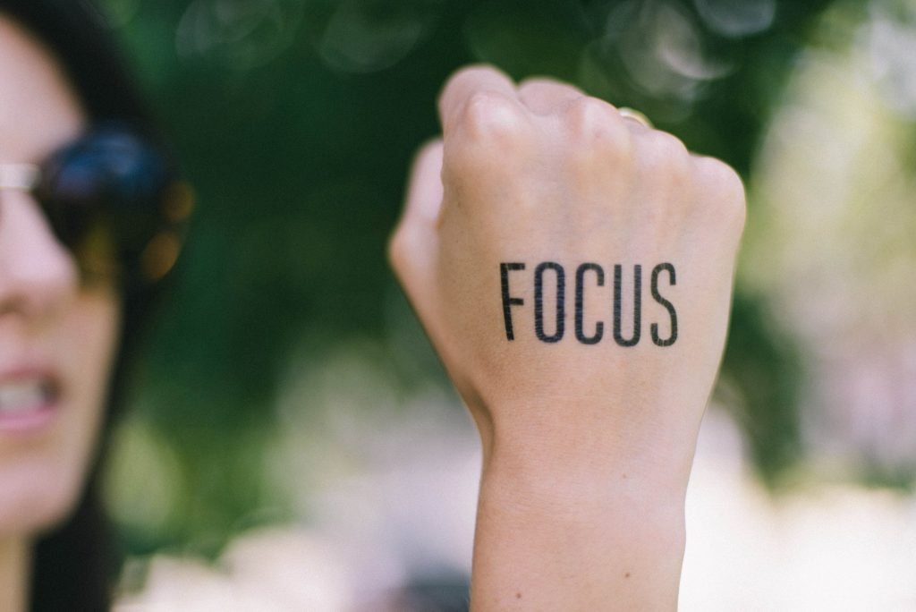 are there any distractions from my goals? mindful monday question #7