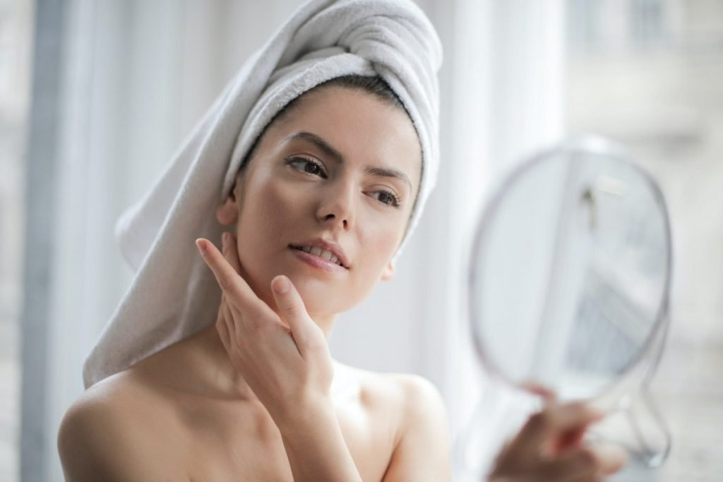 Positive affirmations for beautiful skin