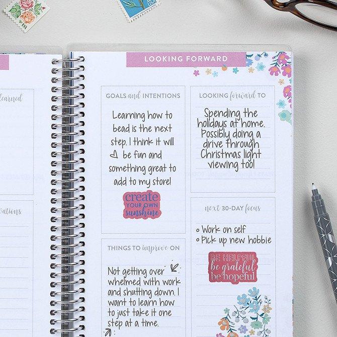 erin coldren gratitude journal with promts
