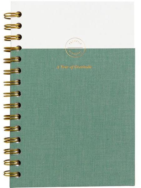 promptly gratitude journal with daily prompts